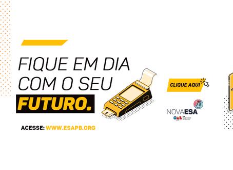 Nova ESA lança programa para alunos regularizarem débitos de mensalidades com descontos especiais