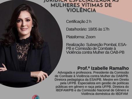 CURSO ON-LINE DE ASSISTÊNCIA JURÍDICA ESPECIALIZADA ÀS MULHERES VÍTIMAS DR VIOLÊNCIA DOMÉSTICA