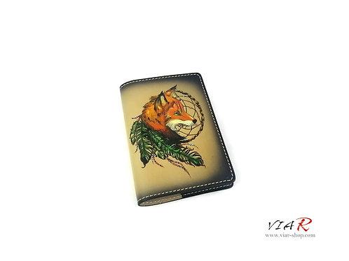 """Паспортная обложка  """"Лиса"""""""