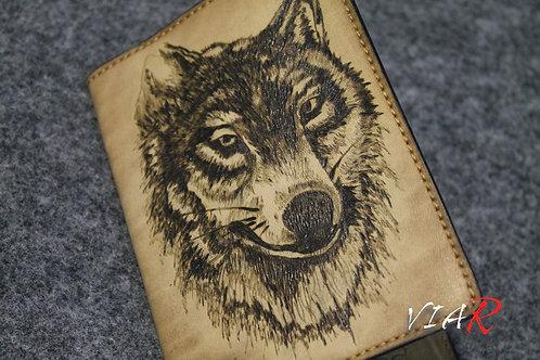 """Паспортная обложка """"Волк"""""""