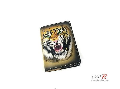 """Паспортная обложка  """"Тигр"""""""