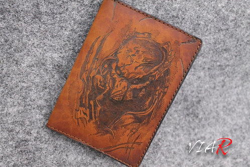 "обложка на паспорт ""Хищник"""