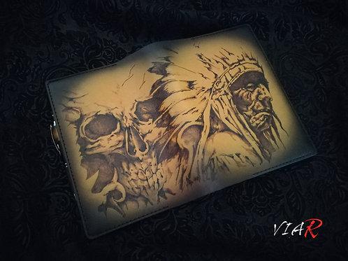 "Обложка на ежедневник "" Вождь """