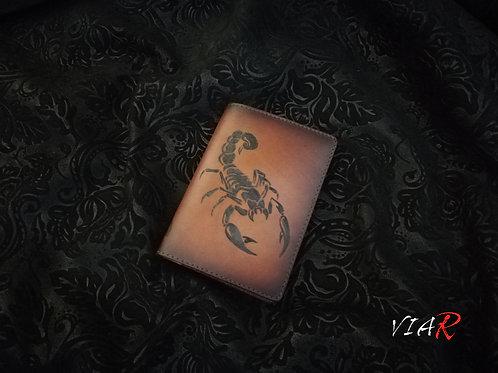 "Паспортная обложка "" Скорпион """