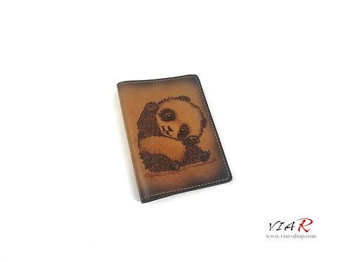 "Паспортная обложка  ""Панда"""