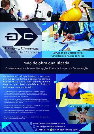 Folheto Grupo Campos