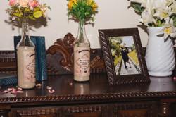 Rótulos garrafas de vinho
