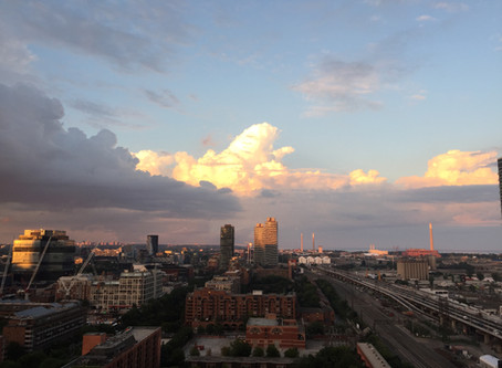 Beneath Toronto Sunset