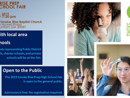 Our 3rd Annual High School Fair is here!