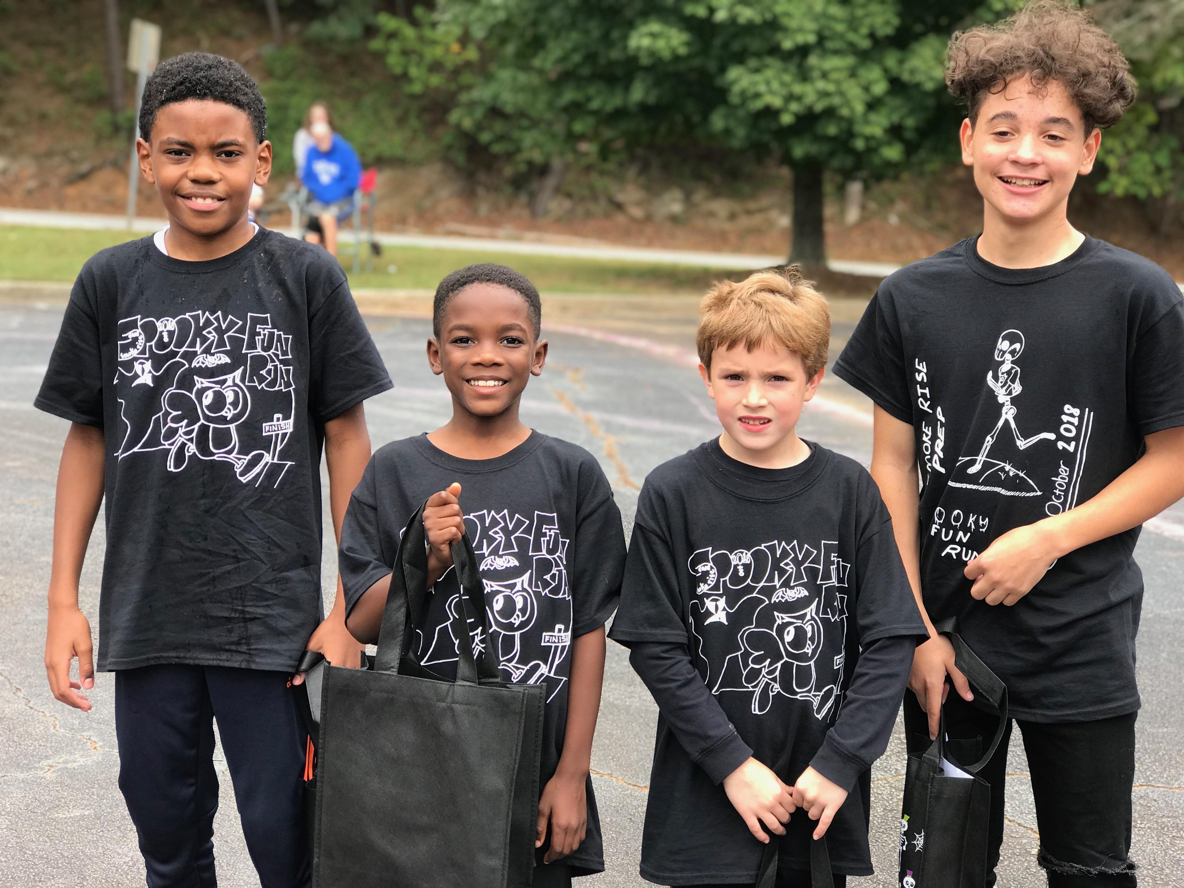Spooky Fun Run Winners 2018