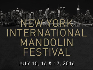 An International Festival of Mandolins - In New York!
