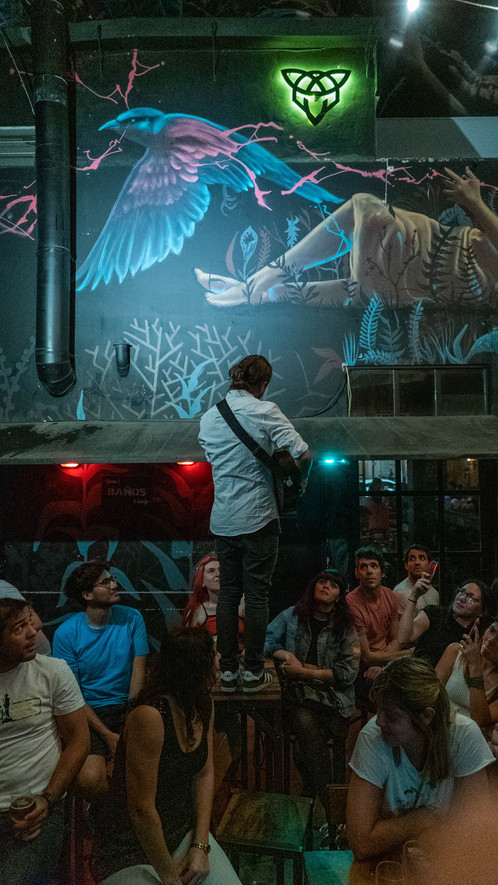 Felix San Martin / 24 de octubre / Temple Bar