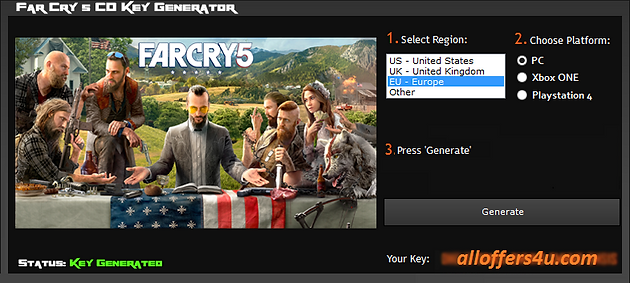 FAR CRY 5 CD KEY SERIAL KEY ACTIVATION CODE LICENSE KEY FREE