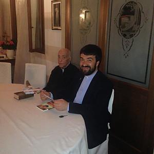 in VENETO da Arianna con Don Antonio e Padre Rastrelli
