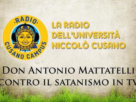 """L'appello di Don Antonio Mattatelli a Paolo Bonolis: """"Opponiti a Marilyn Manson"""""""