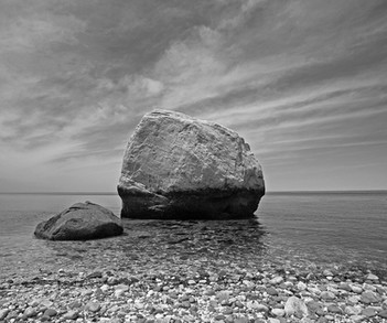 Beach with Boulders, NOFO