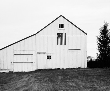 Barn with Flag, NOFO