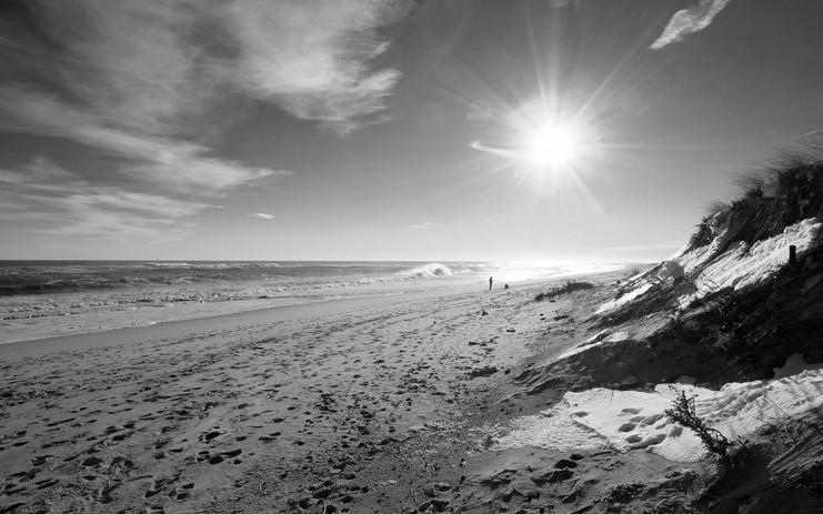 Ocean Beach with Snow, EH