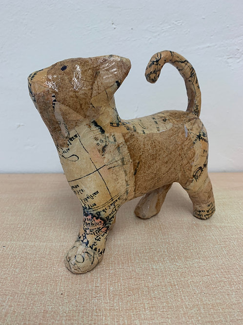 Decoupage Cat
