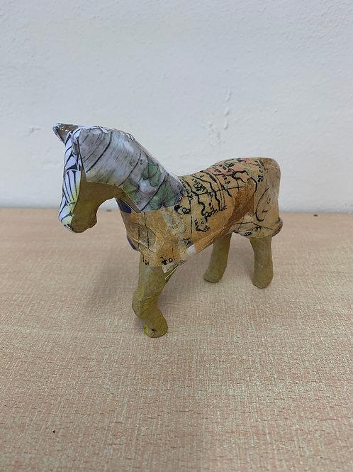 Decoupage Horse