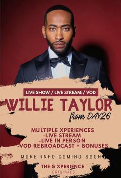 Willie Taylor Live!