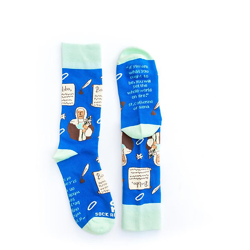 St. Catherine of Siena Socks