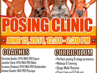 Posing Clinic, June 15, 2014