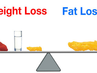 Are you losing Fat or losing Weight?