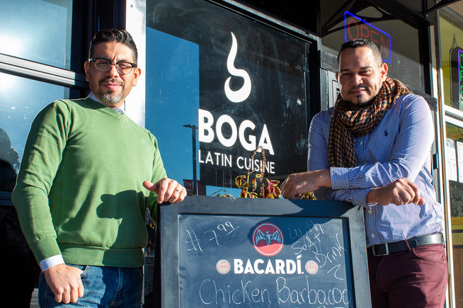 Boga Latin Cuisine is just one of the local restaurants that keeps us coming back for more.