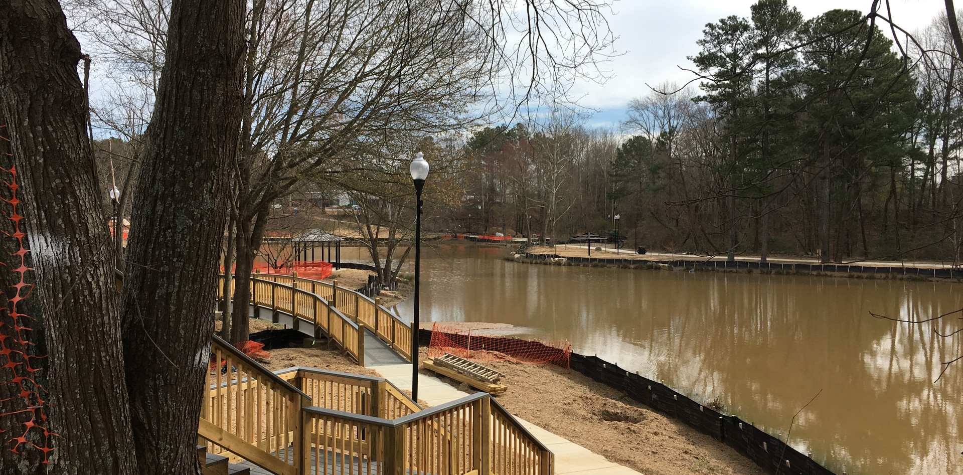 Pinnacle Park is the newest addition to the Norcross park system! It is currently under construction and will open later this year. It is located off Brook Hollow Parkway in southeast Norcross.