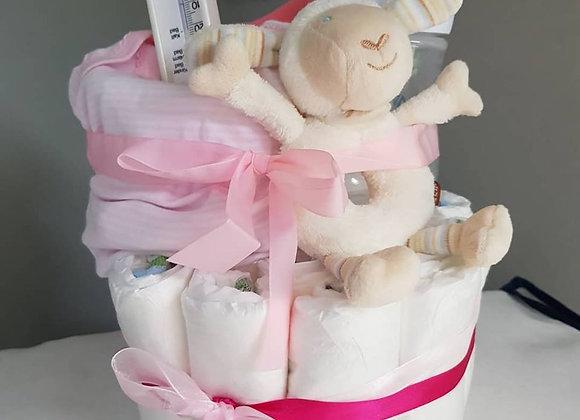 Gâteau 1 étage (fille)