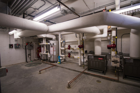Mechanical Room in The Milroy