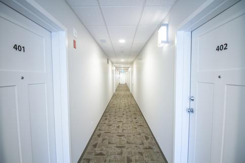 The Milroy hallway