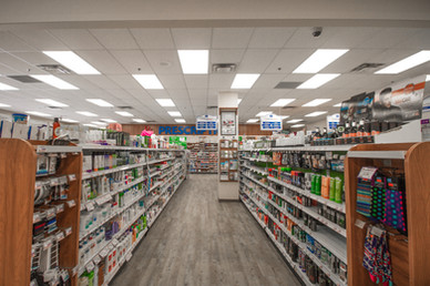 Two Pharmacy interior