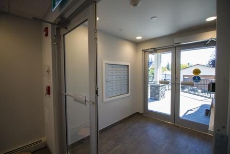 The Milroy Entrance