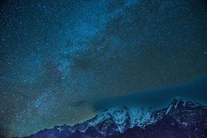 Mardi Himal Milky Way