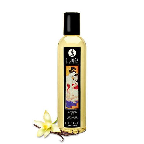 Shunga Olio da Massaggio Vaniglia