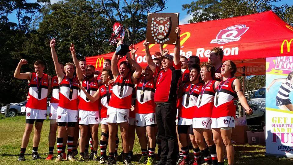 South Burnett Saints Premiership Win