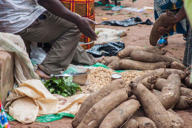 Yams at the Market