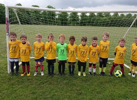 SRG are proud to be the new sponsors for Mawsley FC U7's! #grassrootsfootball