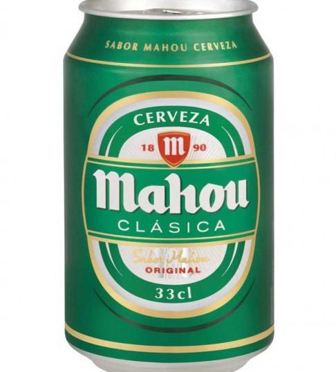MAHOU CLASICA LATA 33CL 24U