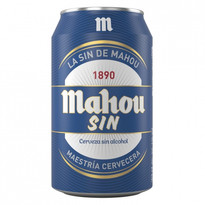 MAHOU SIN ALCOHOL LATA 33CL 24U