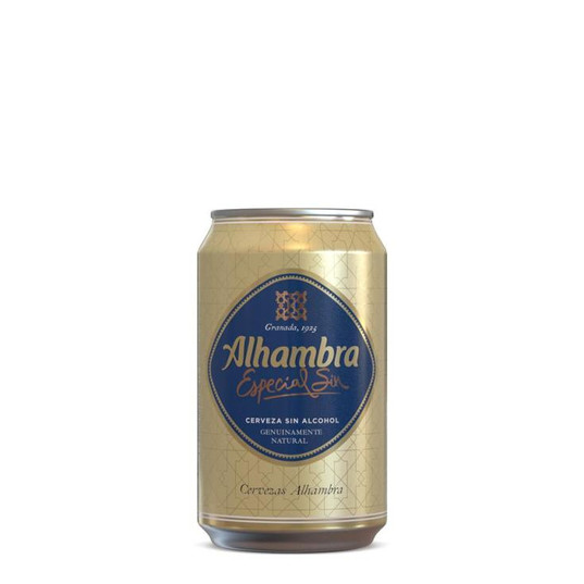 ALHAMBRA SIN ALCOHOL 33CL 24U