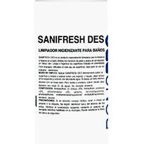 SANIFRESH DES BAÑOS 1K