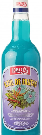 DROL'S AZUL SIN ALCOHOL70CL