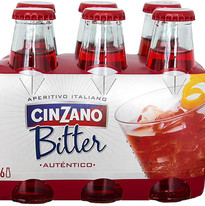 CINZANO BITTER SODA 4X6U