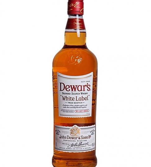 DEWAR'S WHITE LABEL WKY 1L
