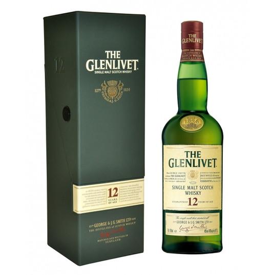 THE GLENLIVET 12 AÑOS WKY 70CL