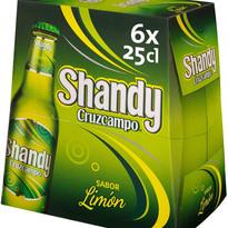 SHANDY CRUZCAMPO 1/4 PACK 4X6U
