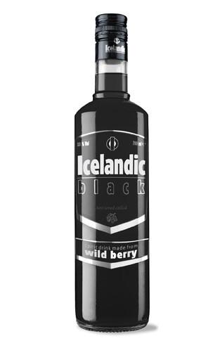ICELANDIC BLACK VODKA 70CL